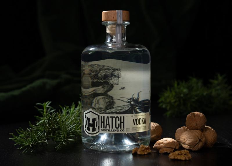 vodka in setting